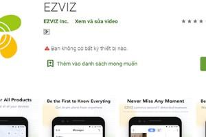 Hướng dẫn cài camera ezviz – quét mã thêm thiết bị trên điện thoại