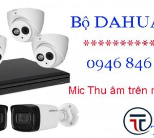 Lắp đặt trọn gói bộ camera DAHUA 4Mp