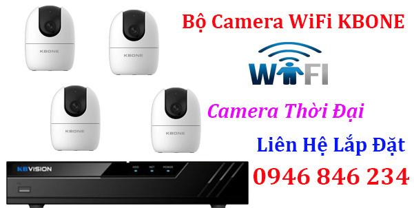Lắp đặt trọn bộ camera WIFI không dây